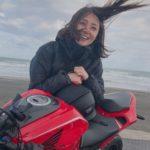 久野静香アナがインスタでフェンダーレスバイク披露!その車種は?