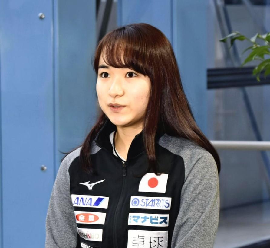 伊藤美誠選手の写真
