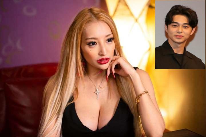 加藤紗里と東出の写真
